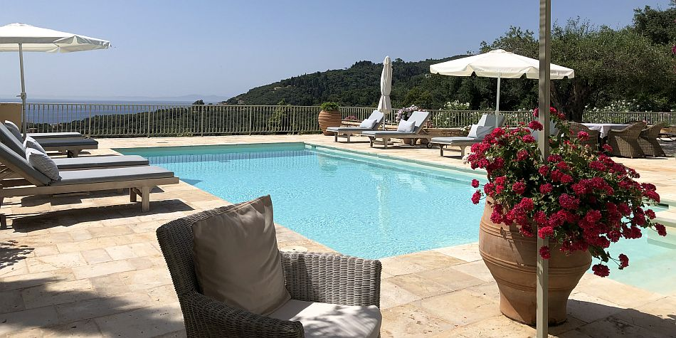 Luxury Villa in North-East Corfu